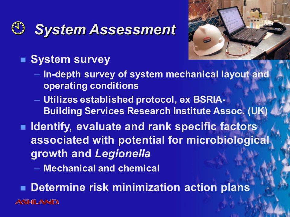 System Assessment System survey
