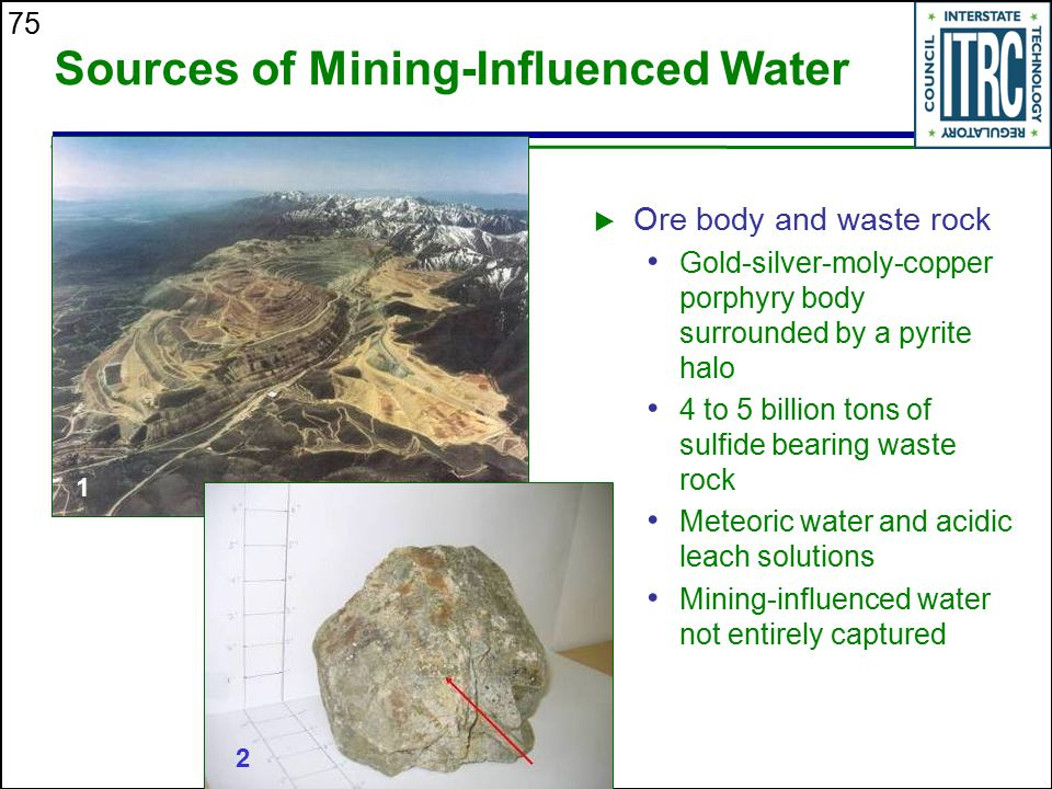 Sources of Mining-Influenced Water