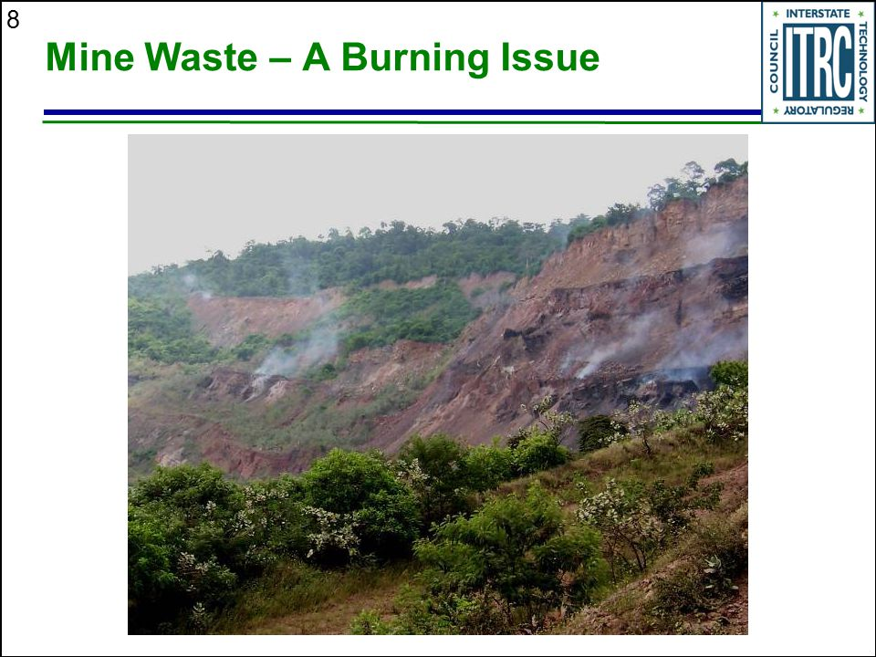 Mine Waste – A Burning Issue