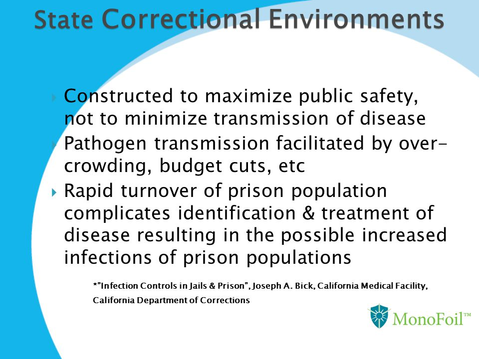 State Correctional Environments