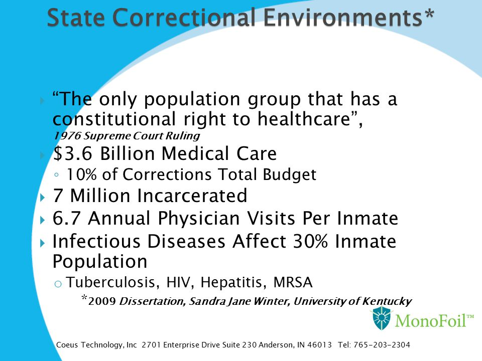 State Correctional Environments*