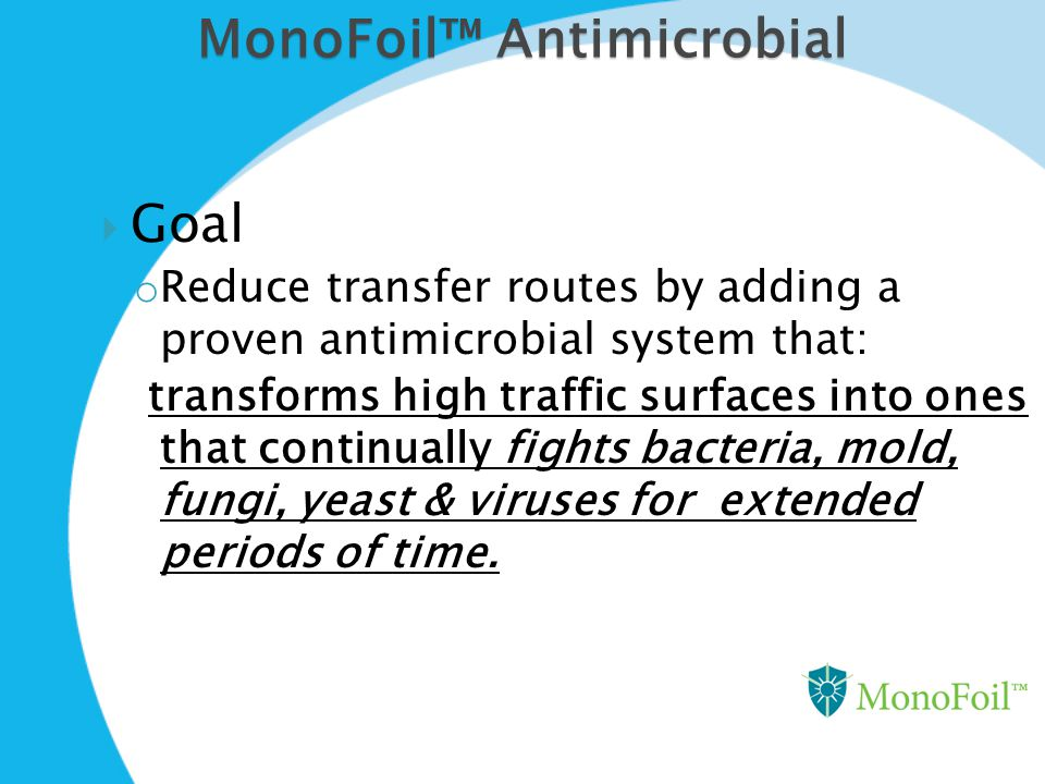 MonoFoil™ Antimicrobial