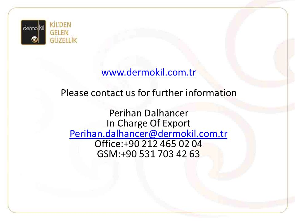 Please contact us for further information
