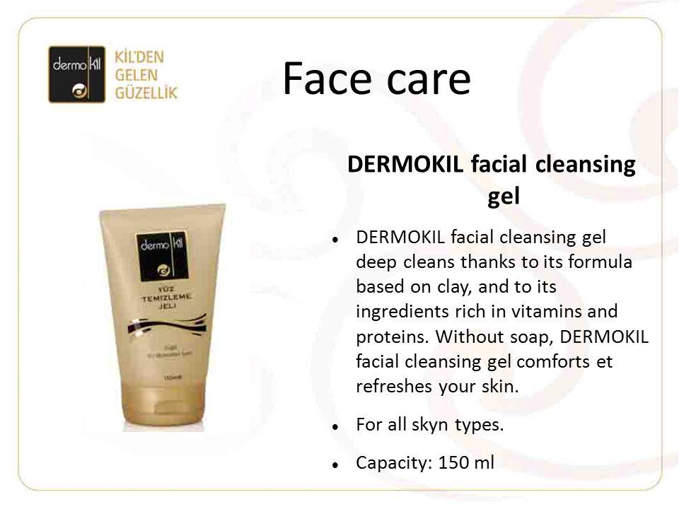 DERMOKIL facial cleansing gel