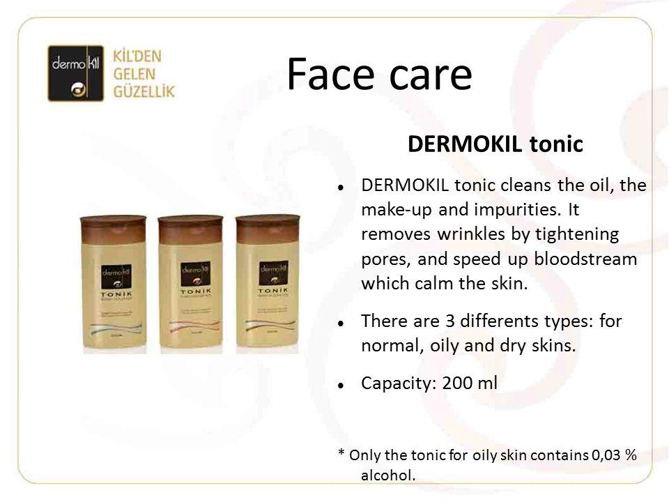 Face care DERMOKIL tonic