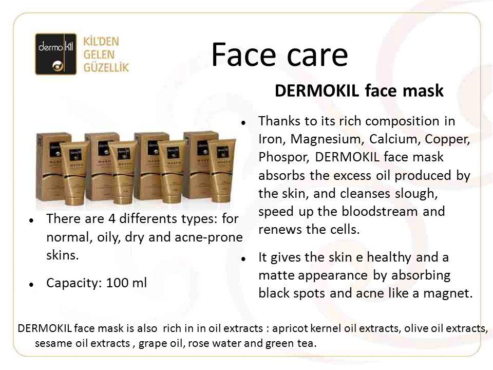 Face care DERMOKIL face mask