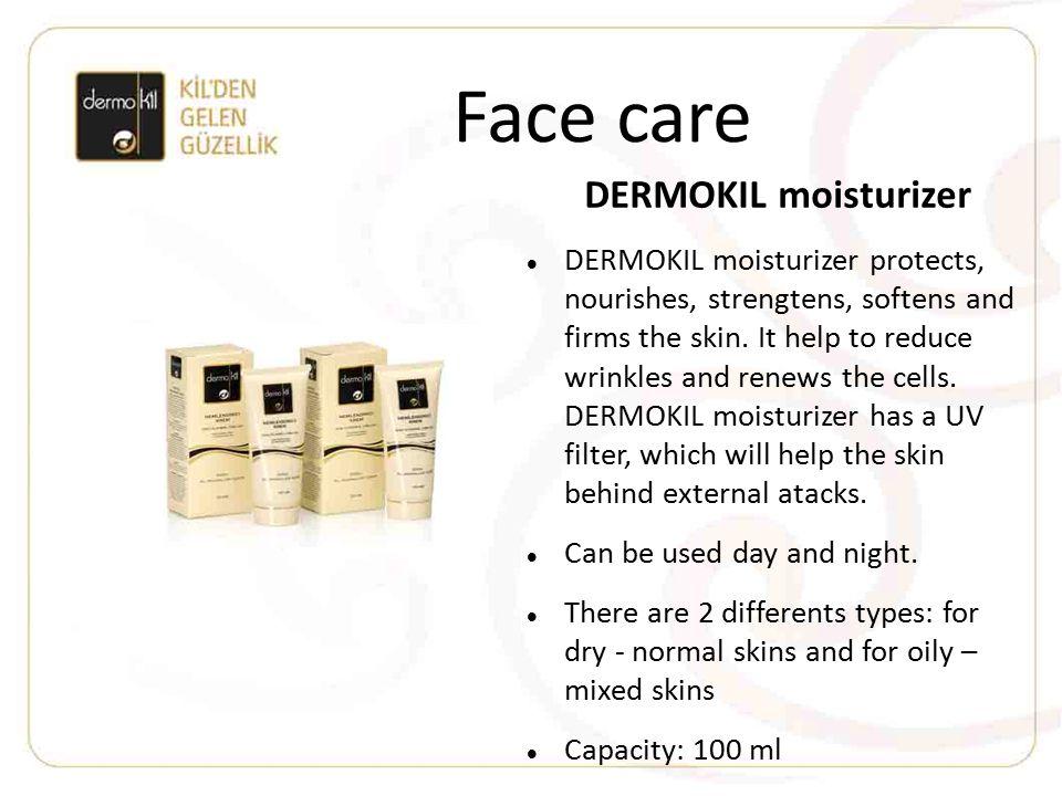Face care DERMOKIL moisturizer