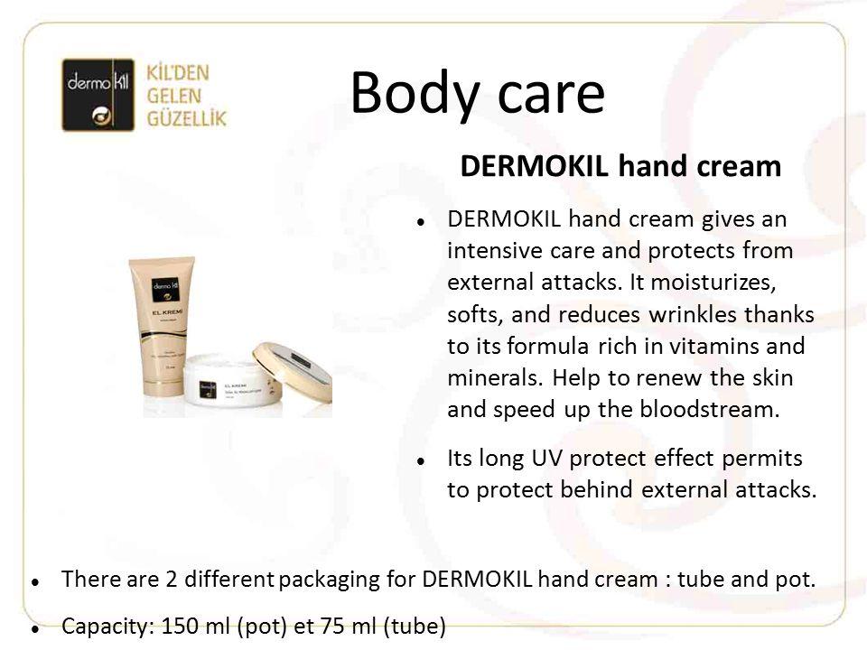Body care DERMOKIL hand cream