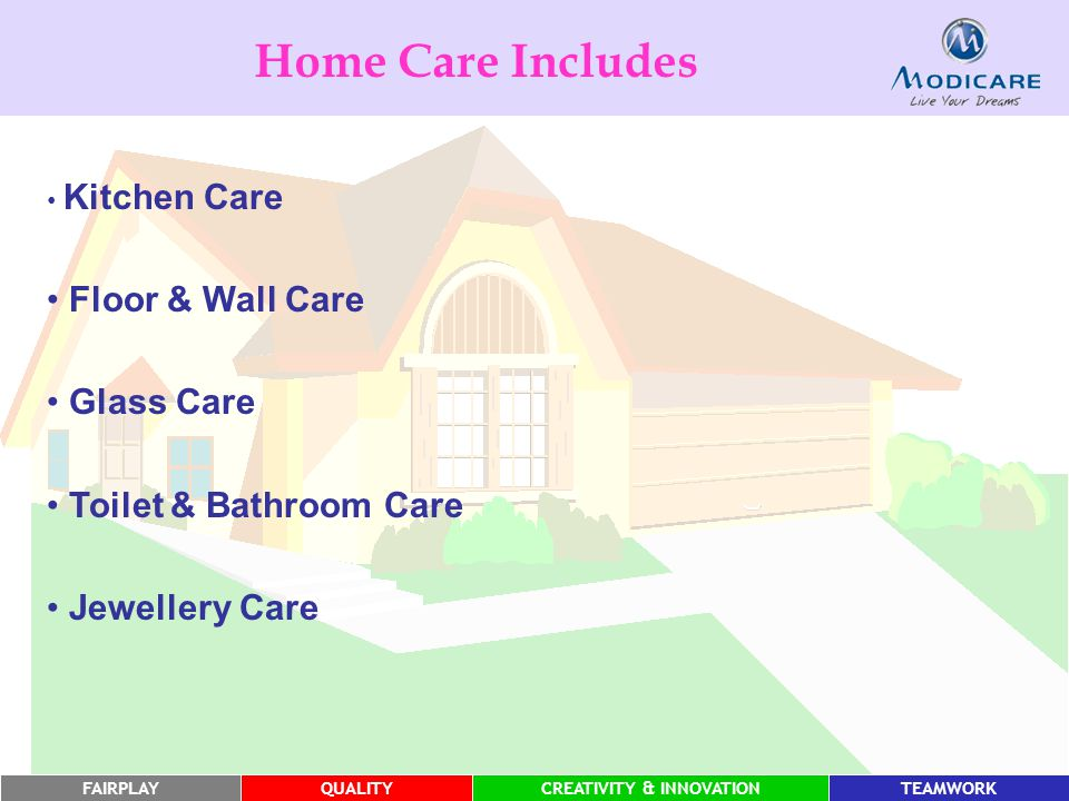 Home Care Includes Floor & Wall Care Glass Care Toilet & Bathroom Care
