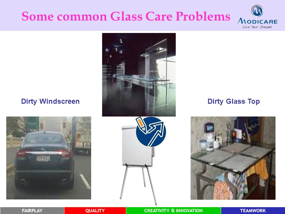 Some common Glass Care Problems