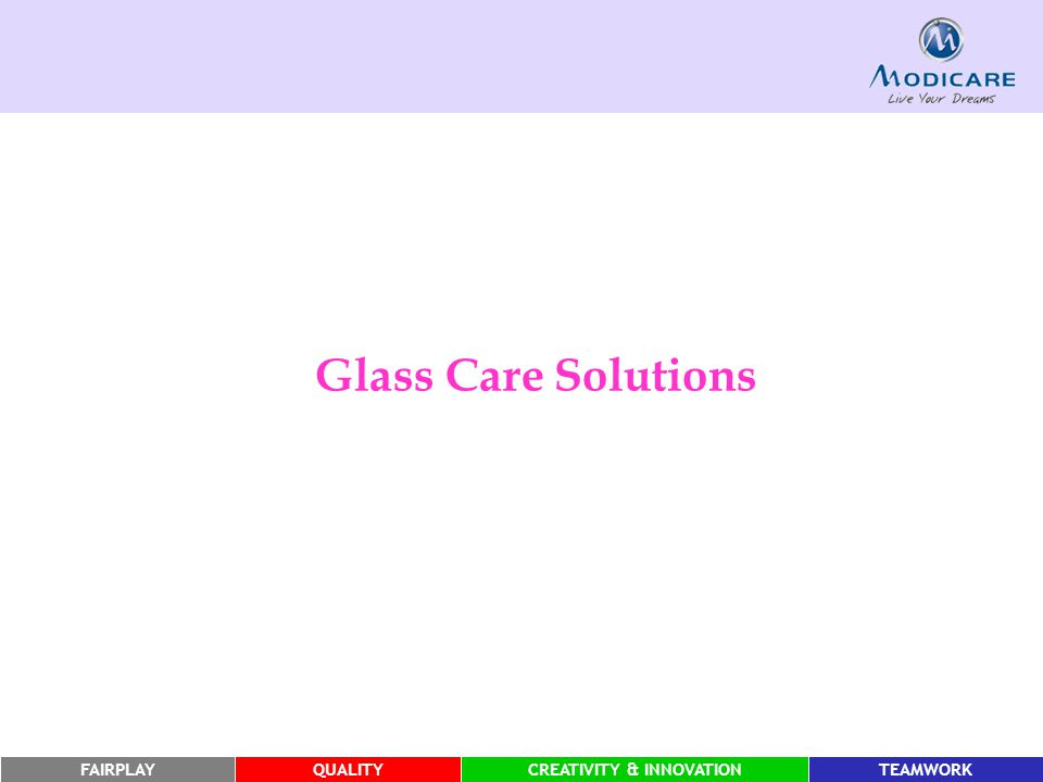 Glass Care Solutions