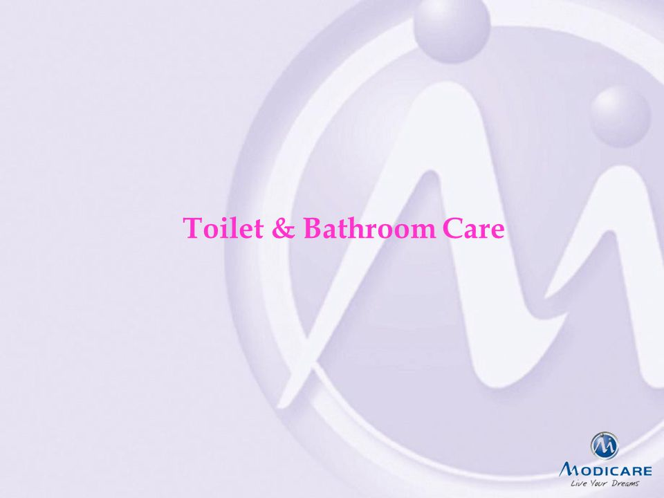 Toilet & Bathroom Care
