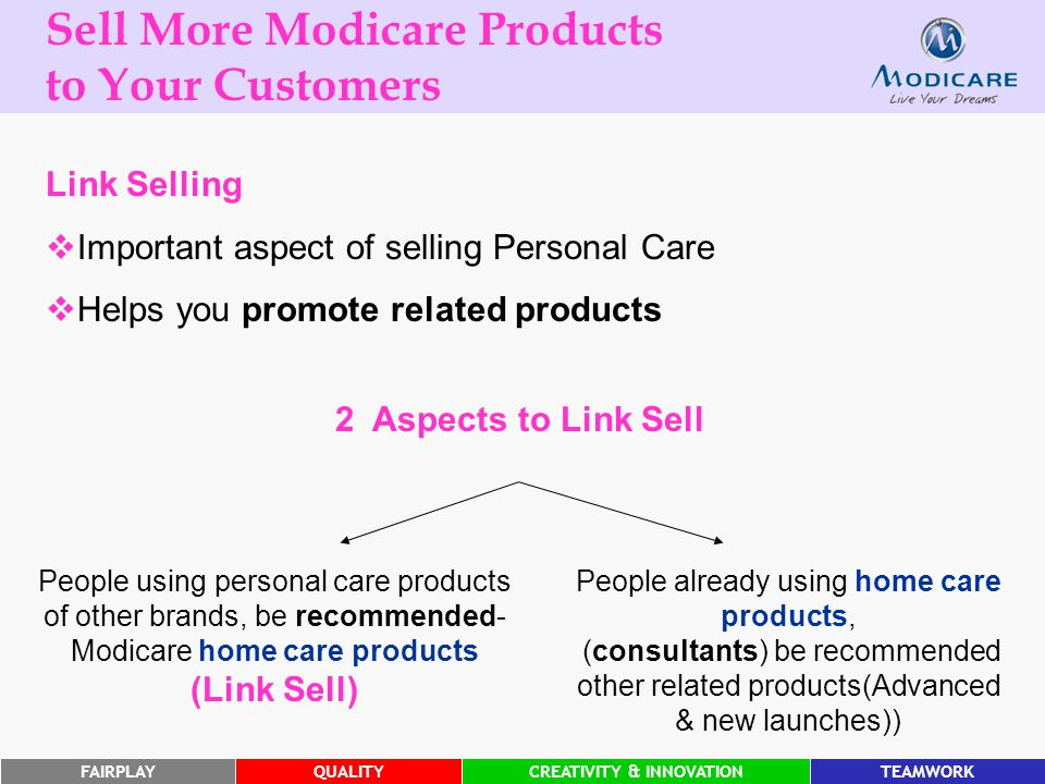 Sell More Modicare Products to Your Customers