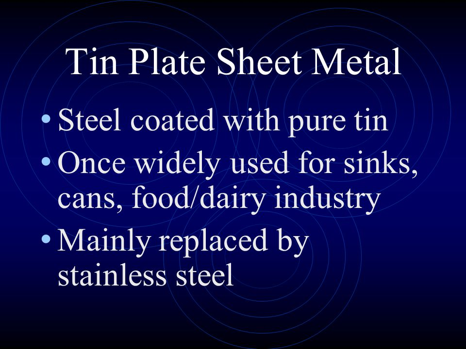 Tin Plate Sheet Metal Steel coated with pure tin