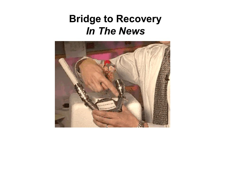 Bridge to Recovery In The News