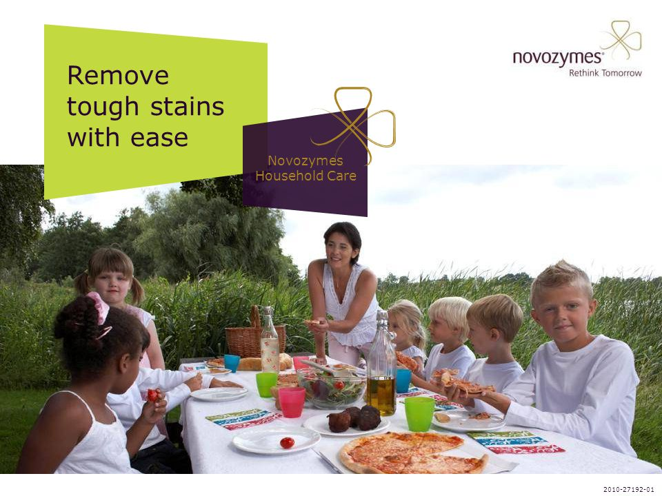 Novozymes Household Care