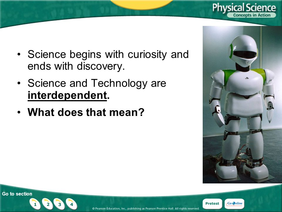 Science begins with curiosity and ends with discovery.