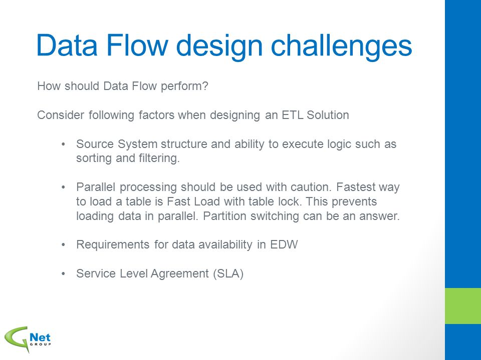 Data Flow design challenges