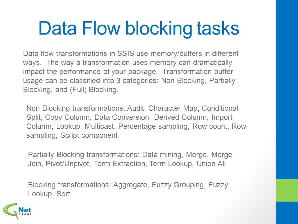 Data Flow blocking tasks