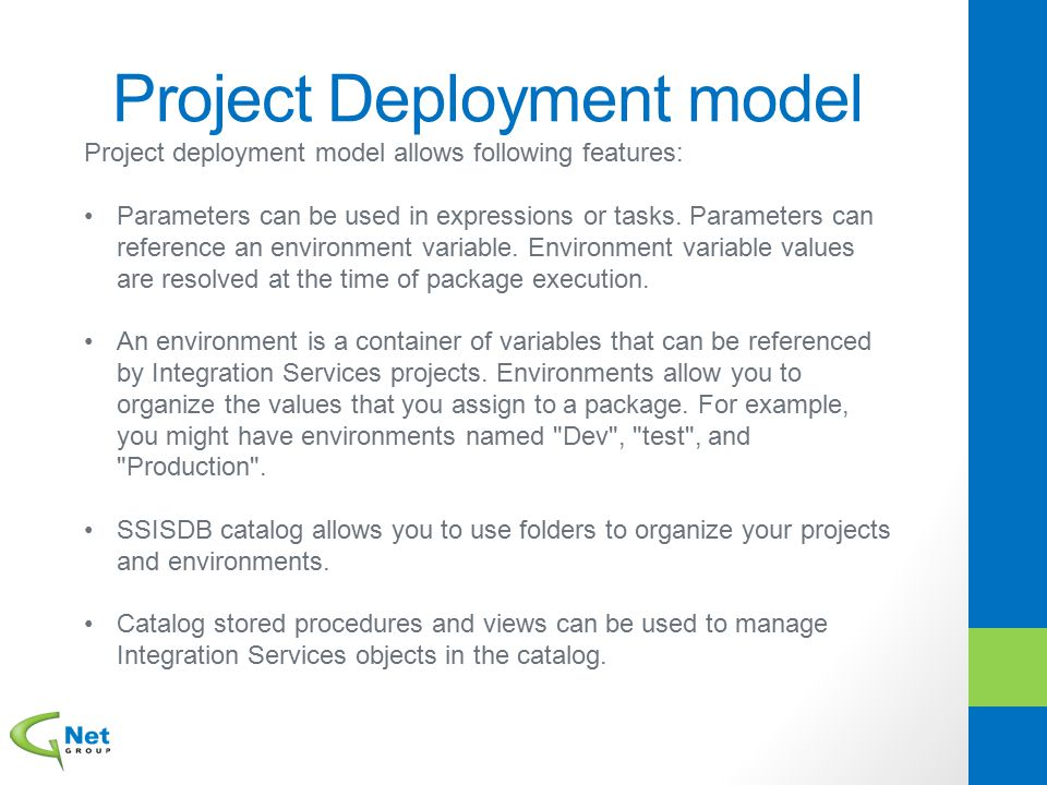 Project Deployment model
