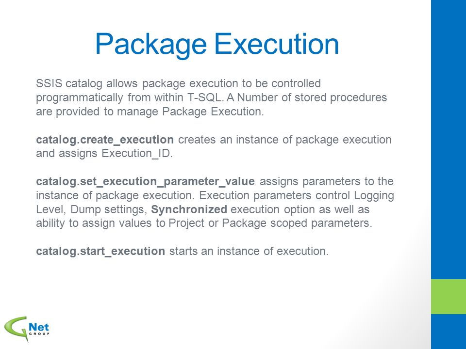 Package Execution