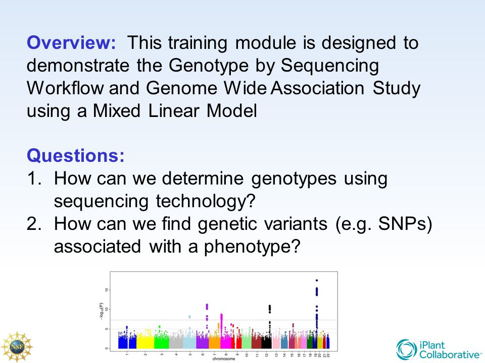 How can we determine genotypes using sequencing technology