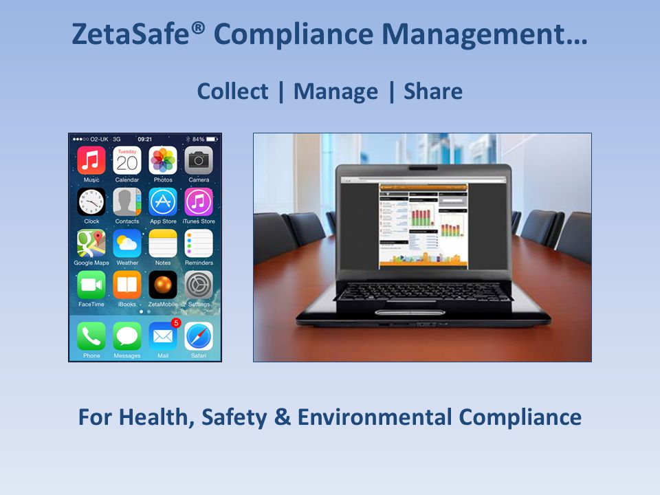 ZetaSafe® Compliance Management…