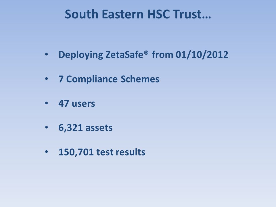 South Eastern HSC Trust…