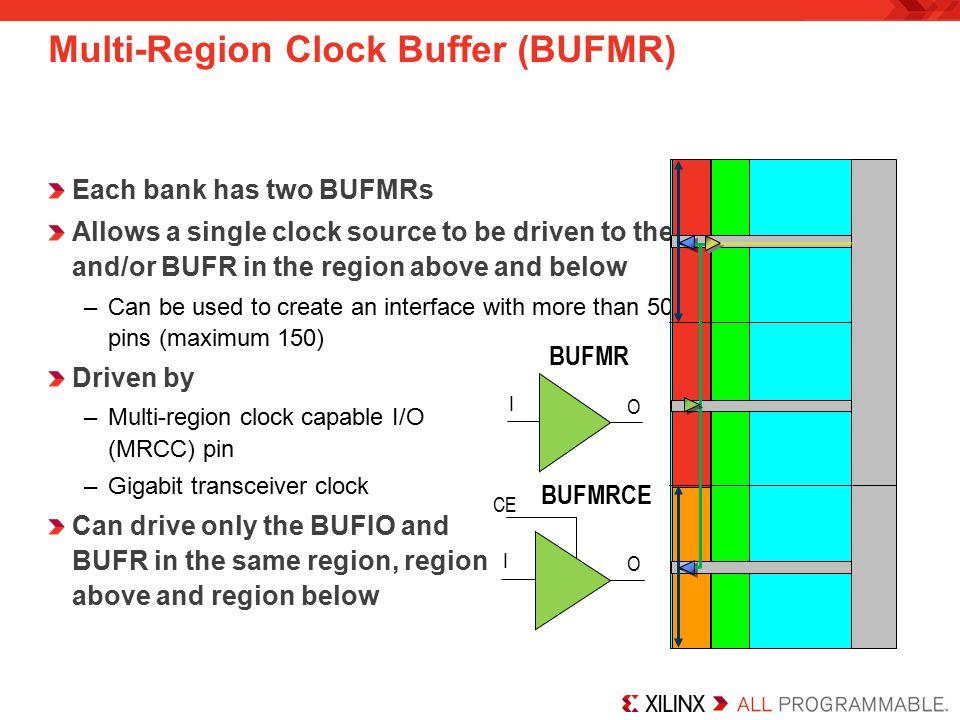 Multi-Region Clock Buffer (BUFMR)