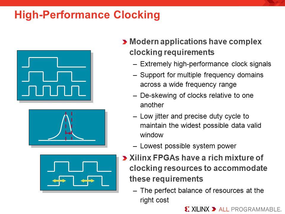 High-Performance Clocking