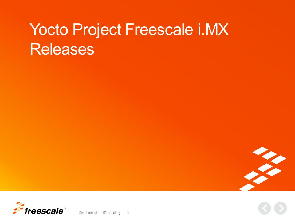 Yocto Project Freescale i.MX Releases: History