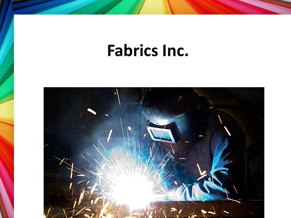Fabrics Inc. Part 2.