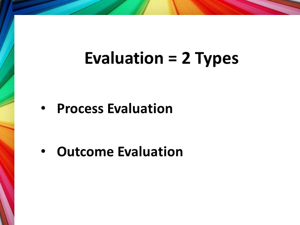 What do you evaluate at the Your Training Objectives