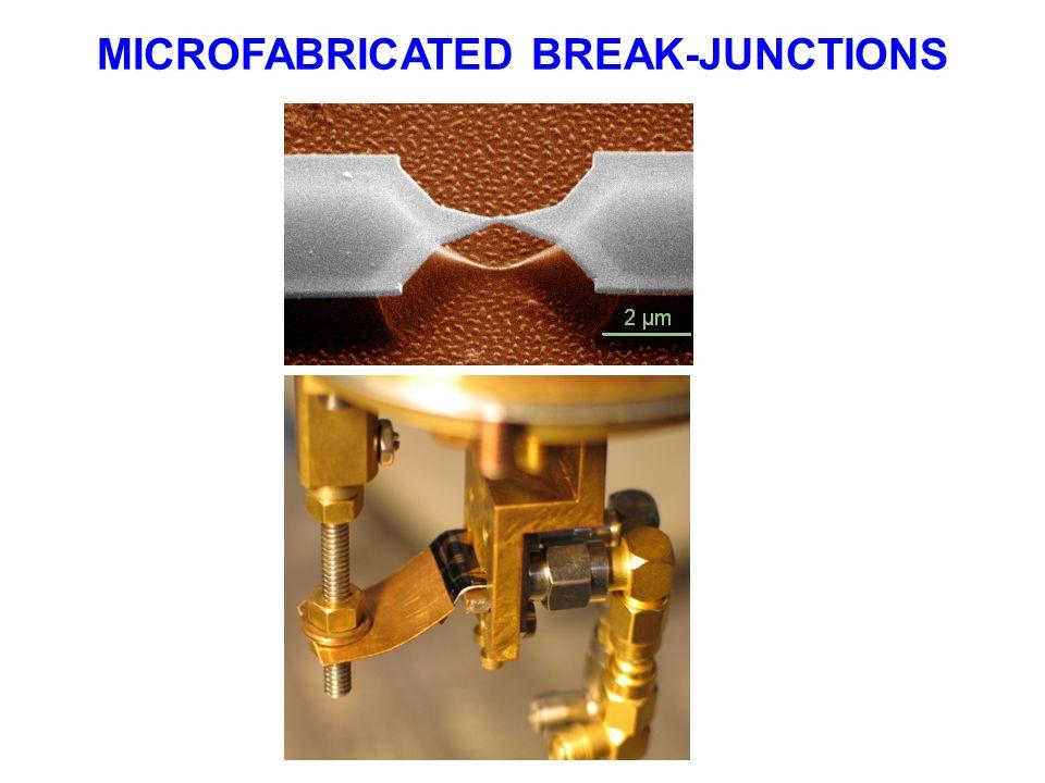 MICROFABRICATED BREAK-JUNCTIONS
