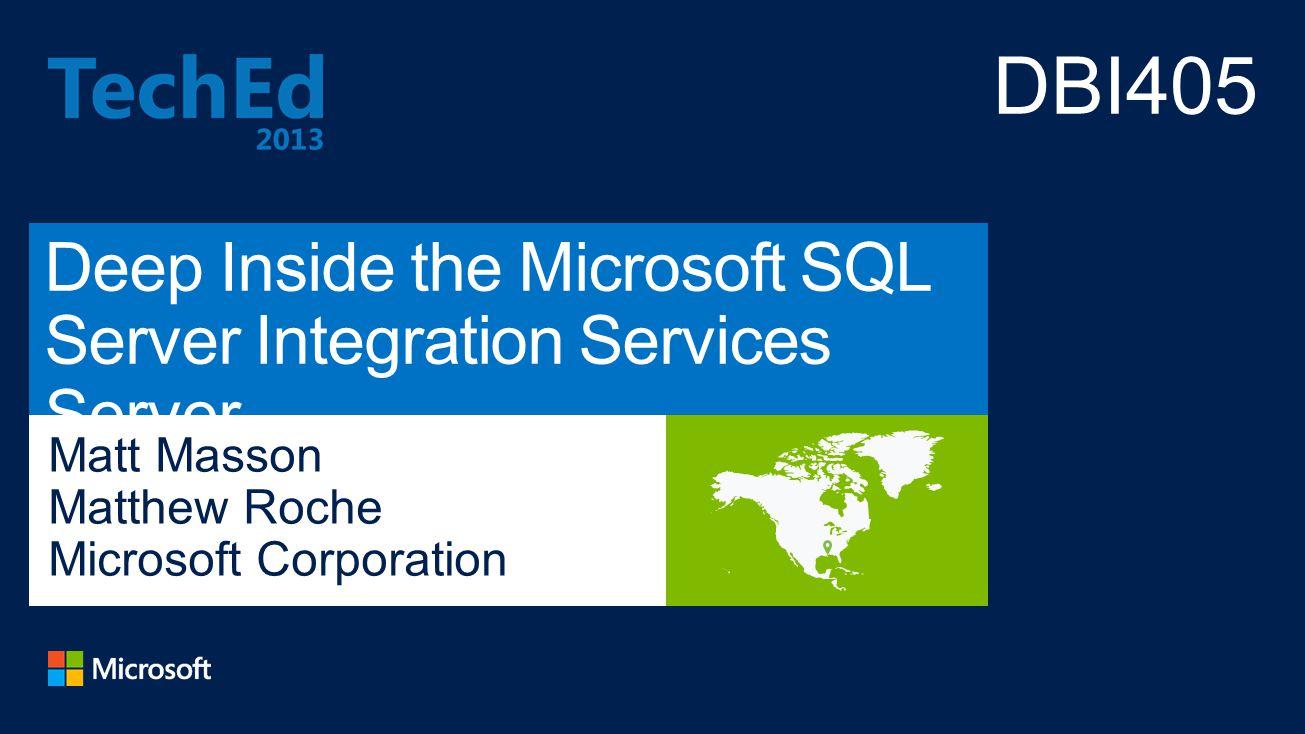 Deep Inside the Microsoft SQL Server Integration Services Server