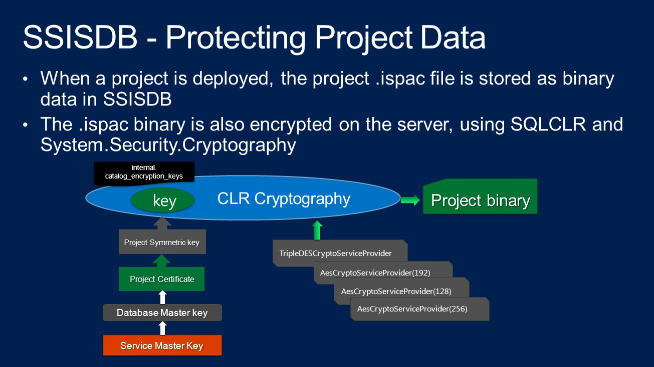 SSISDB - Protecting Project Data