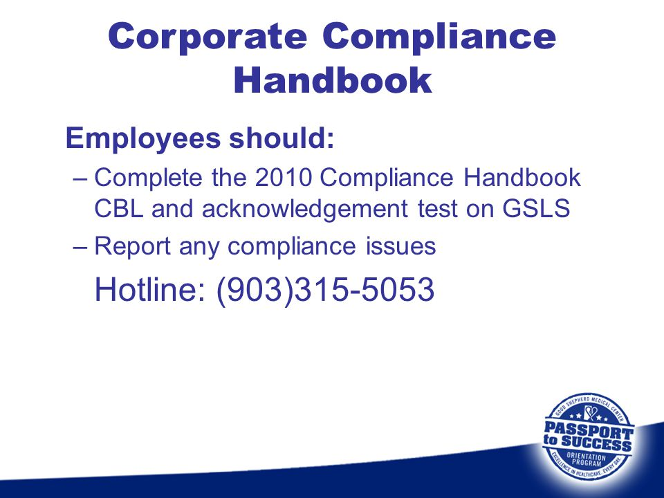 Corporate Compliance Handbook