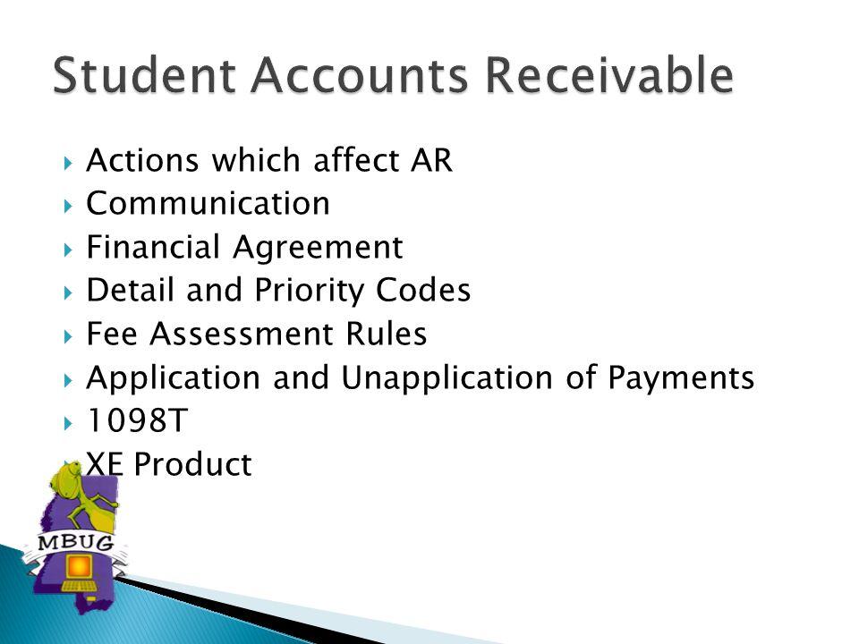 Student Accounts Receivable