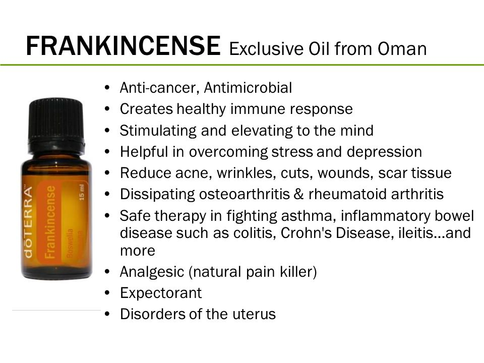FRANKINCENSE Exclusive Oil from Oman