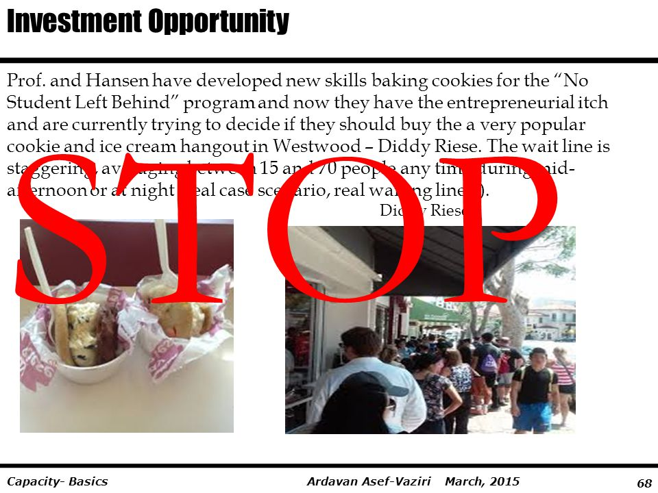 STOP Investment Opportunity