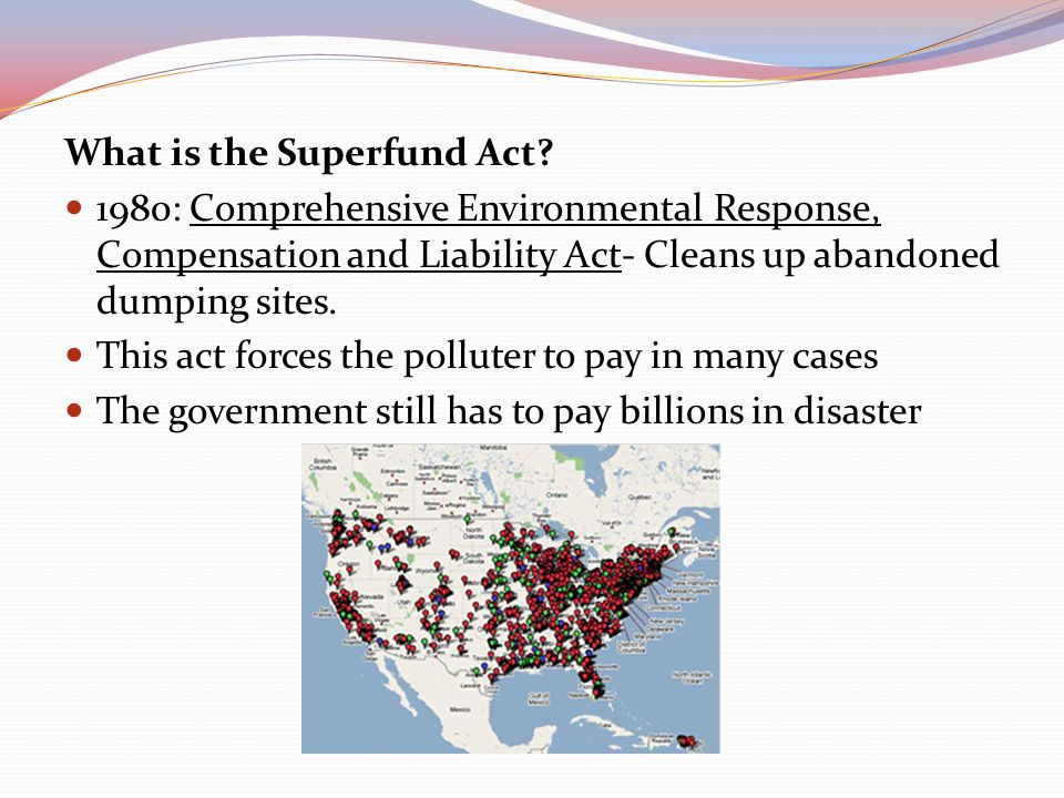What is the Superfund Act