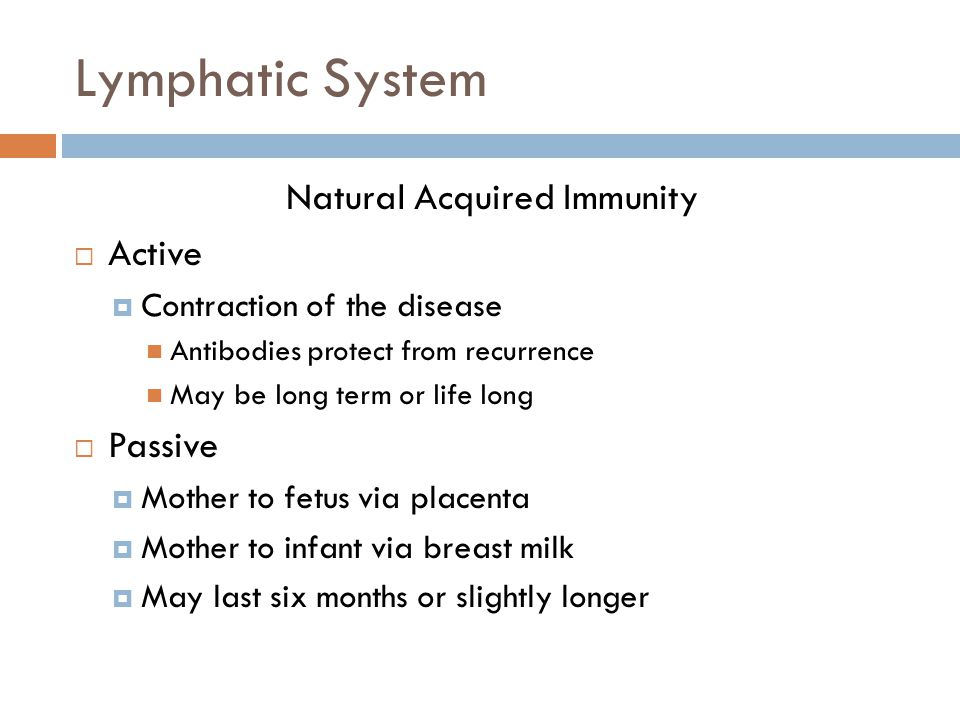 Natural Acquired Immunity