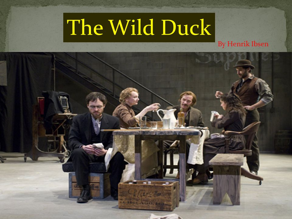 an analysis of the wild duck a play emphasizing on the value of color and light by henrik ibsen A teacher's guide to the signet classics edition of henrik ibsen's a doll's to evaluate the significance of a doll's house by analyzing ibsen's style and comparing the play to other works, including ibsen's the wild duck, hedda gabler, and the convinces him to let the truth come to light for the good of both nora and.