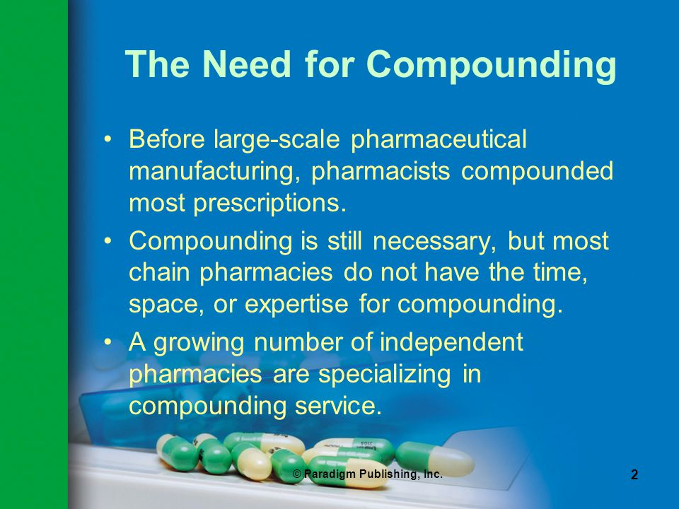 The Need for Compounding