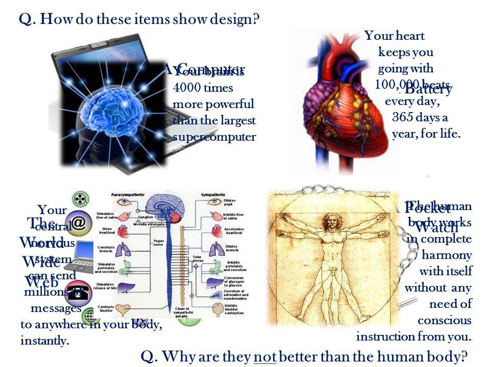Q. How do these items show design