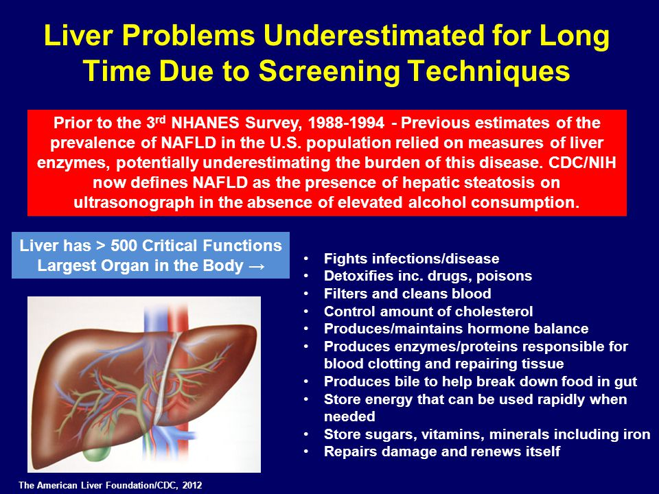 Liver Problems Underestimated for Long Time Due to Screening Techniques