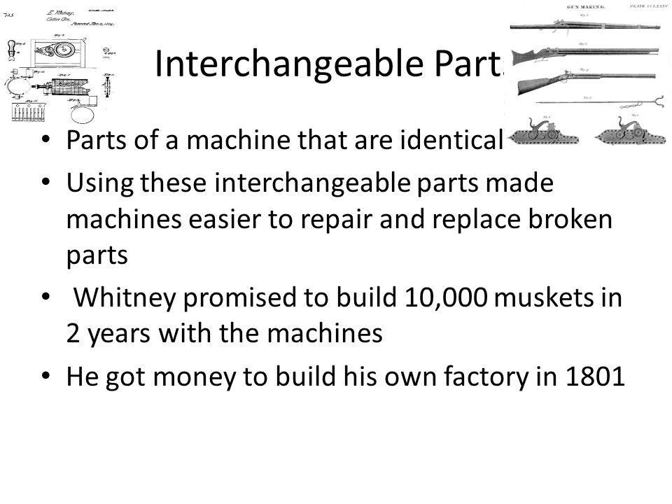 Interchangeable Parts