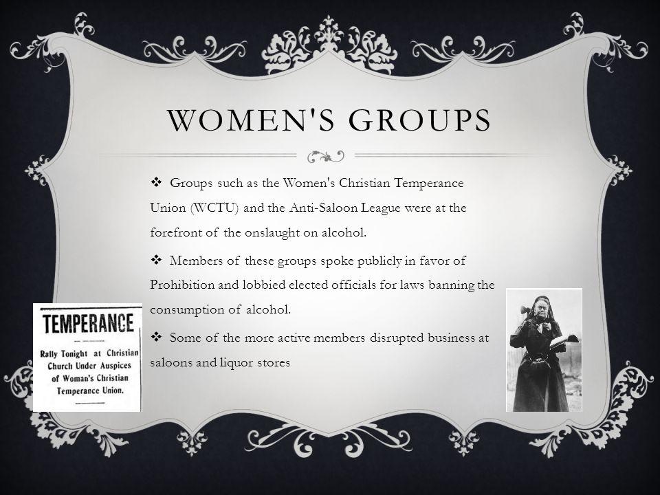 Women s Groups