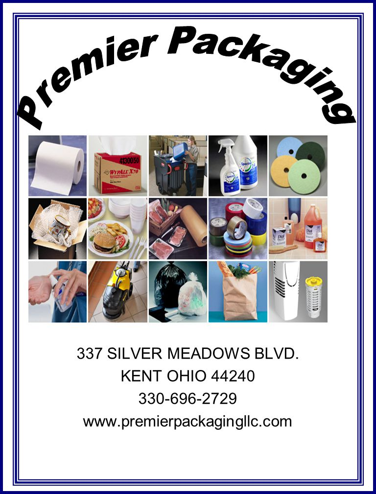 Premier Packaging 337 SILVER MEADOWS BLVD. KENT OHIO 44240
