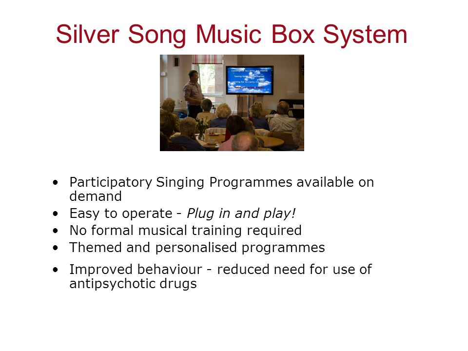Silver Song Music Box System
